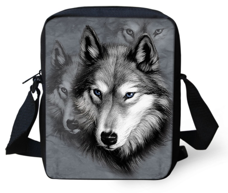 Wolf Shoulder Bag