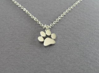 Cat Paw Print Necklace