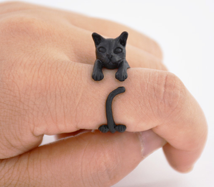 Cat Ring for Women and Girls - Free Shipping