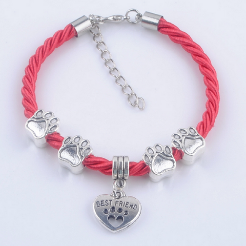 PAW BEST FRIEND CHARMS BRACELETS