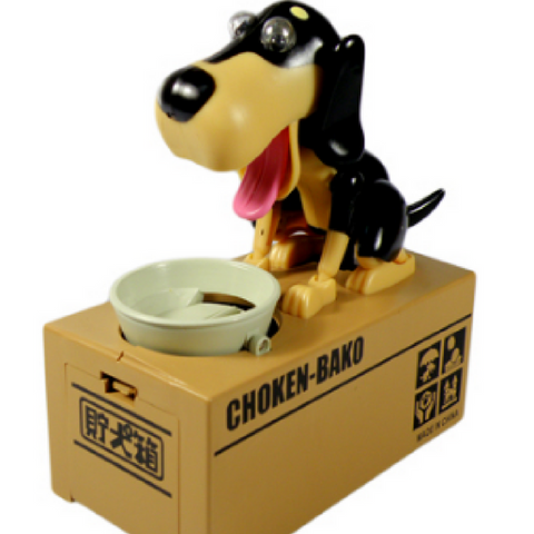 Bank HUNGRY DOG COIN BANK