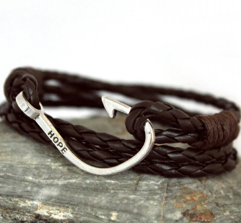 Hope Fish Hook Bracelet - Free Shipping!!