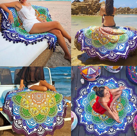 Mandala Indian Yoga Blanket - Free Shipping!!!