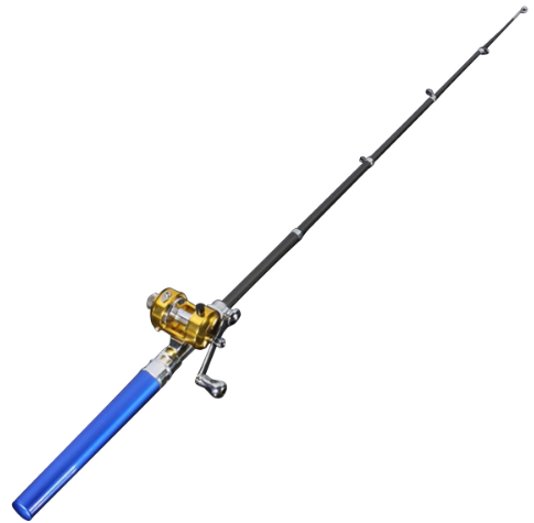 Pen Shaped Pocket Fishing Rod