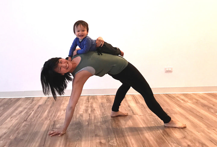 Advice From a Yoga Instructor On What It Means to Stay Fit As a New Mom