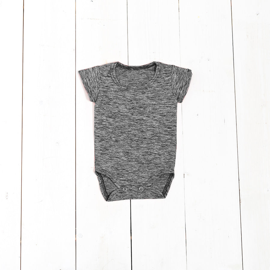 Heather Short Sleeve Onesie