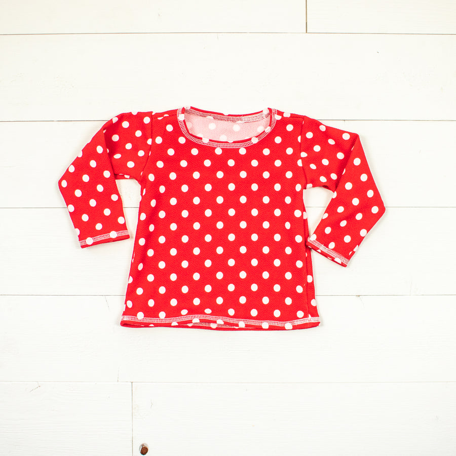 Minnie Inspired Long Sleeve