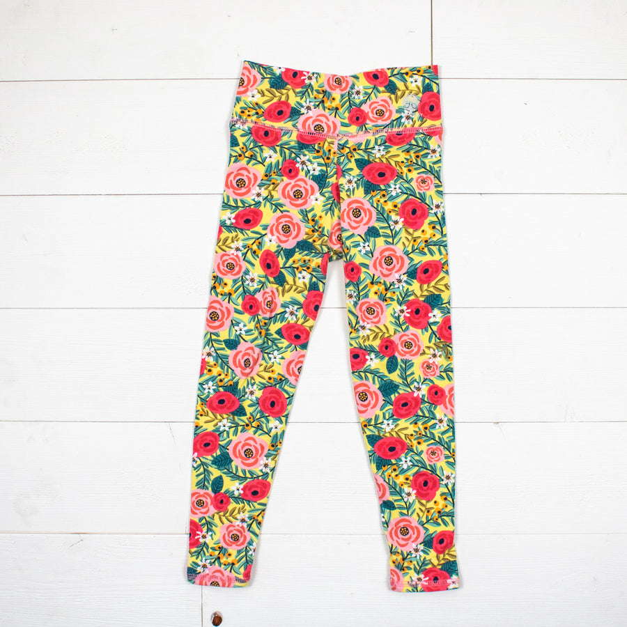Rose Floral Leggings