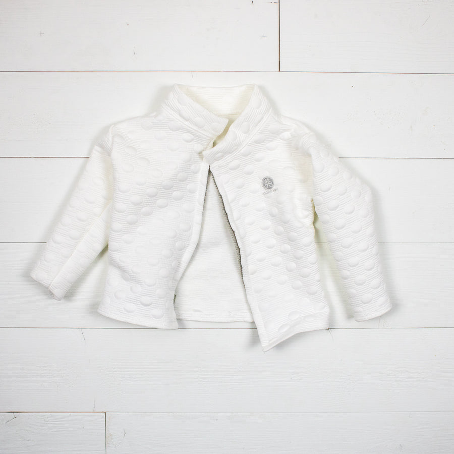 Poppy Jacket- White