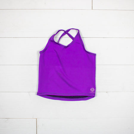 Criss Cross Tank Top - 4 Color Options