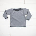 Silk Collection- Light Gray Long Sleeve