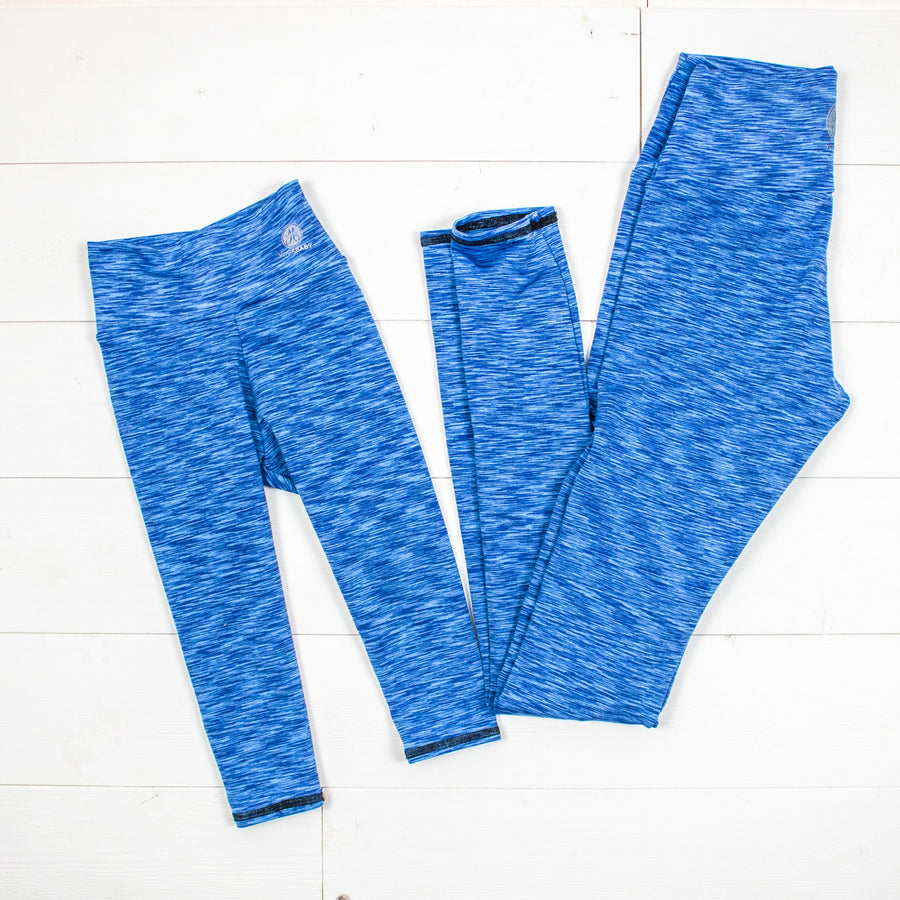 Mommy and Me Blue Leggings/Joggers