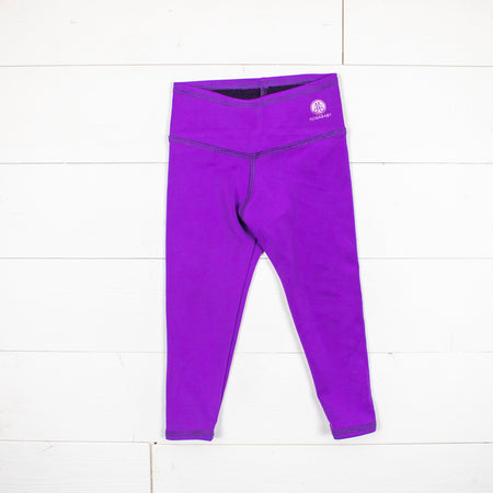 Silk Collection- Dark Purple Leggings
