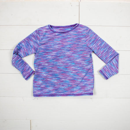 Lotus Long Sleeve-Mauve Strata