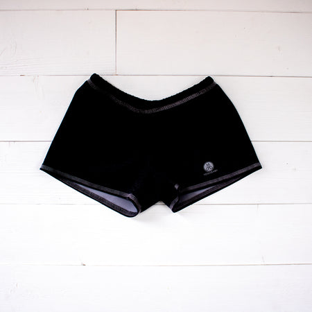 Black Runners Shorts