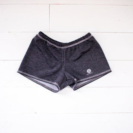 Dark Heathered Gray Runners Shorts
