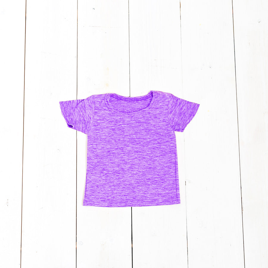 Heather Relaxed Short Sleeve