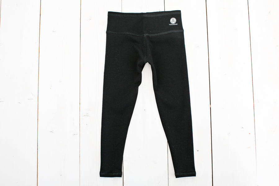 Fleece Lined Black Legging