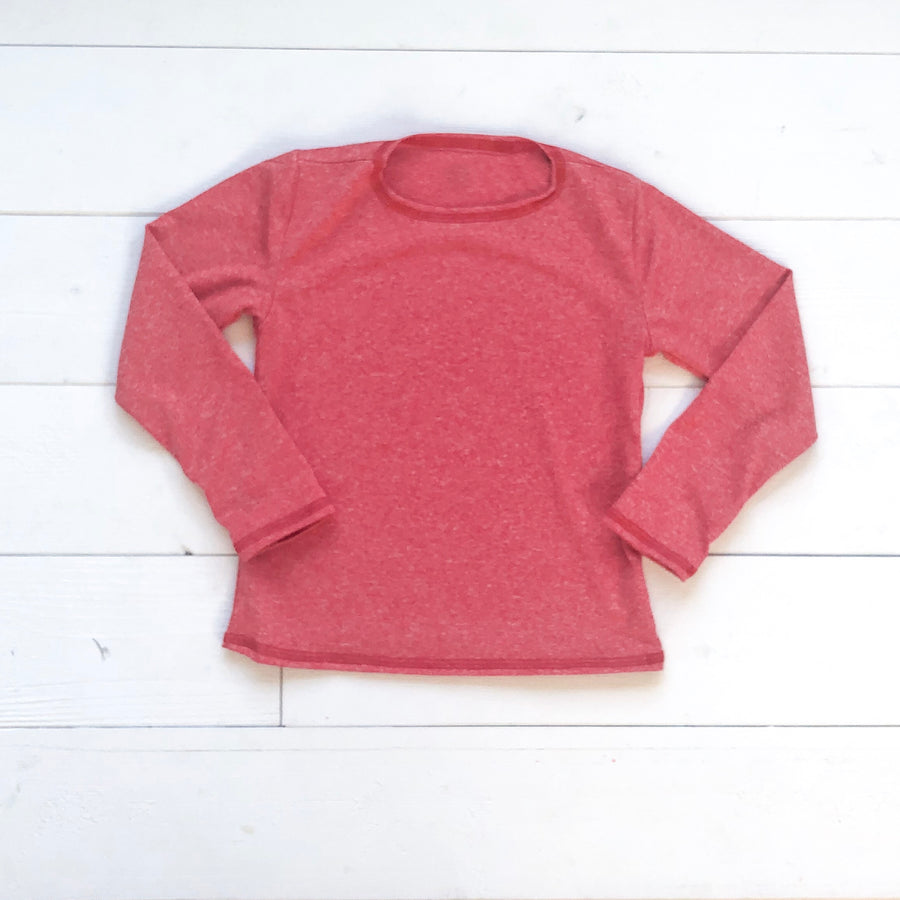 Dry Fit Red Long Sleeve