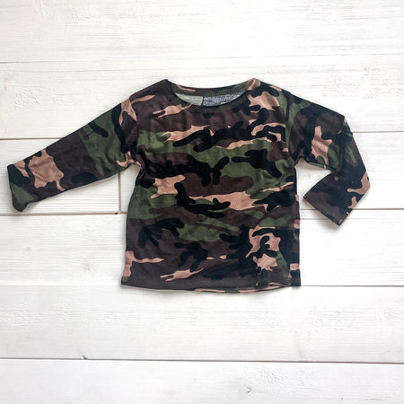 Camo long sleeve