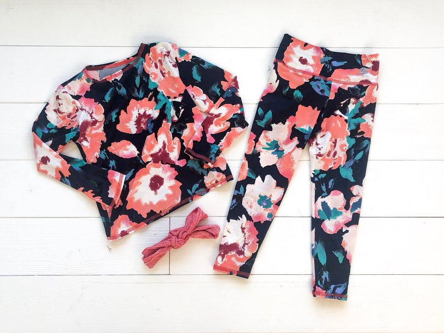 Autumn Floral Matching 3 piece set