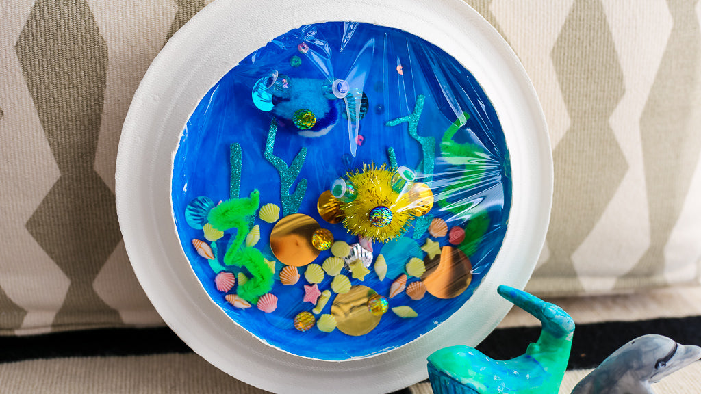 Paper Plate Aquarium Craft