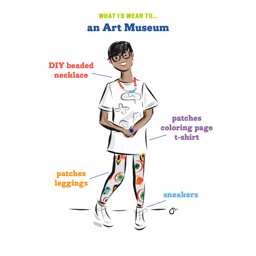What I'd Wear to an Art Museum