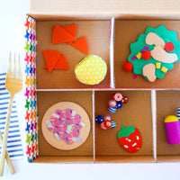Kid Made Modern Pretend Play Bento Box DIY