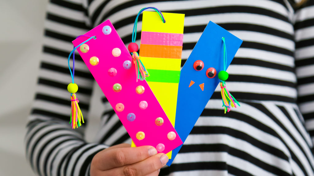 DIY Tassled Bookmarks Craft for Kids
