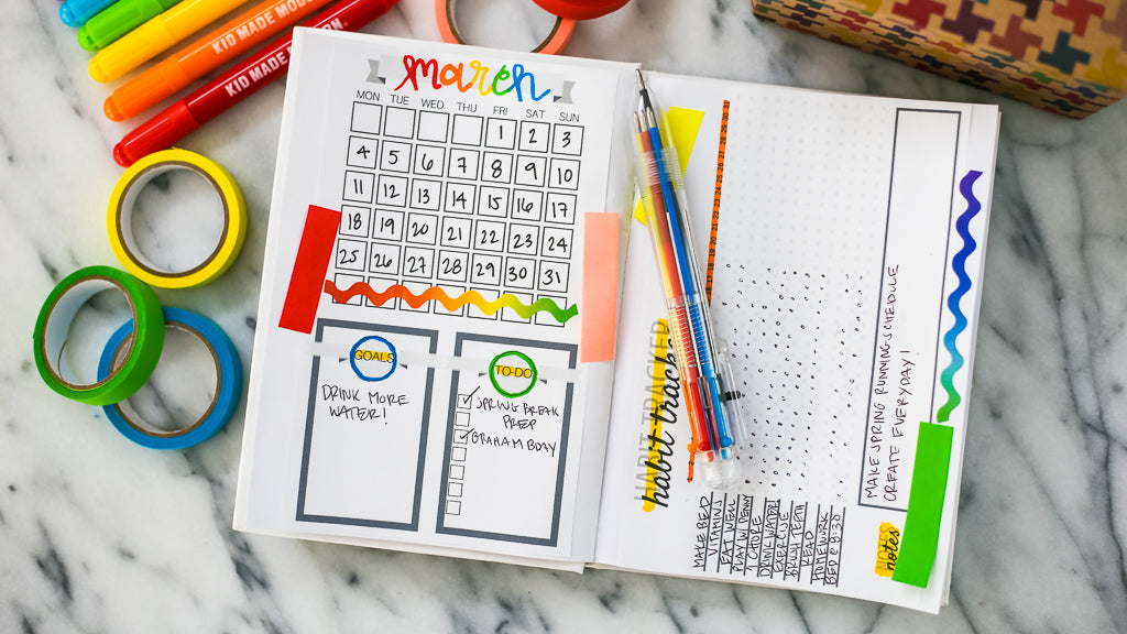 DIY Bullet Journal for Kids