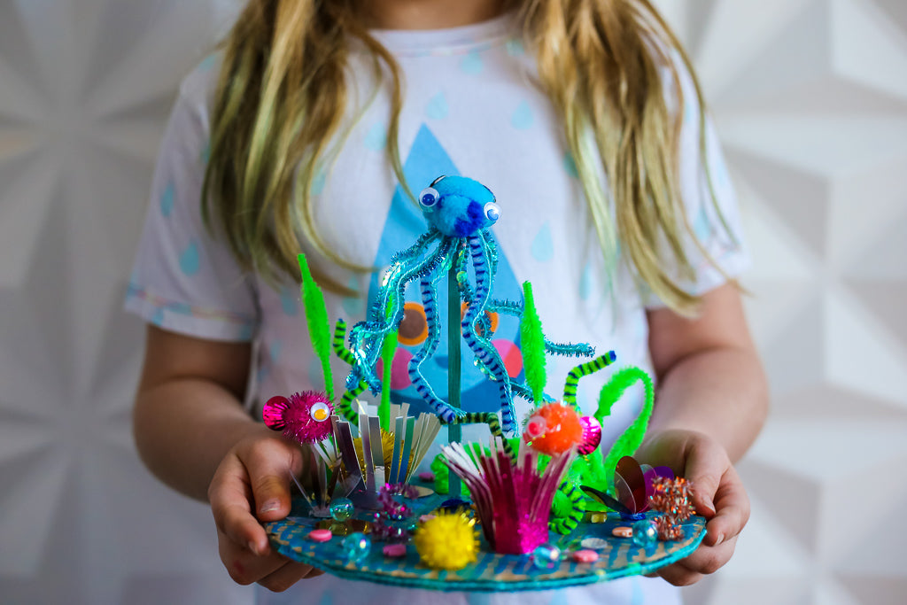 Make Your Own Coral Reef Sculpture