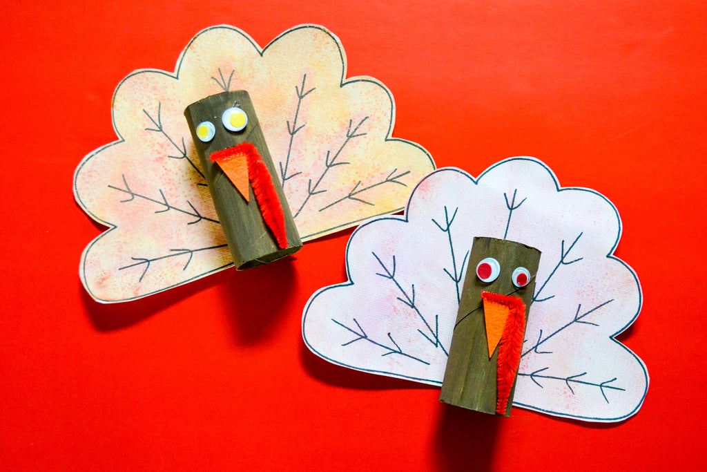 DIY Watercolor Turkey