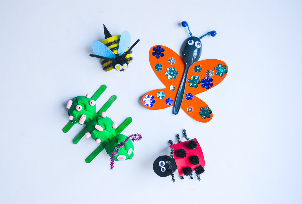 Make Your Own Recycled Insects
