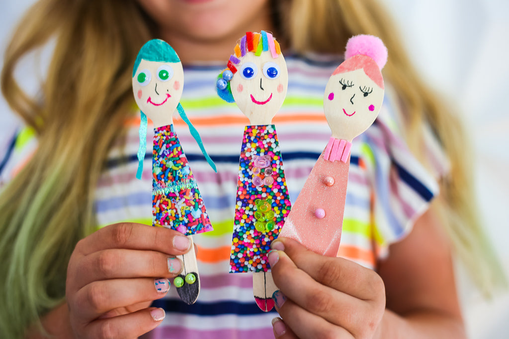 Wooden Spoon Dolls DIY