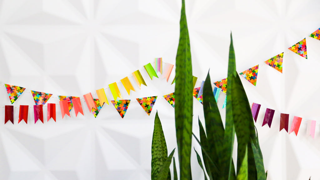 Duct Tape Garland DIY Craft for Kids