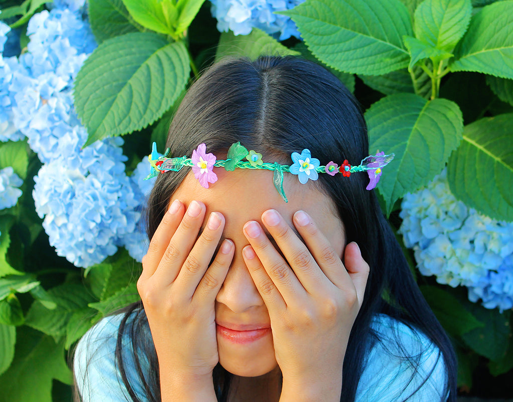 DIY Petal Party Flower Crown
