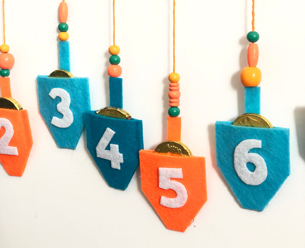 DIY Hanukkah Countdown