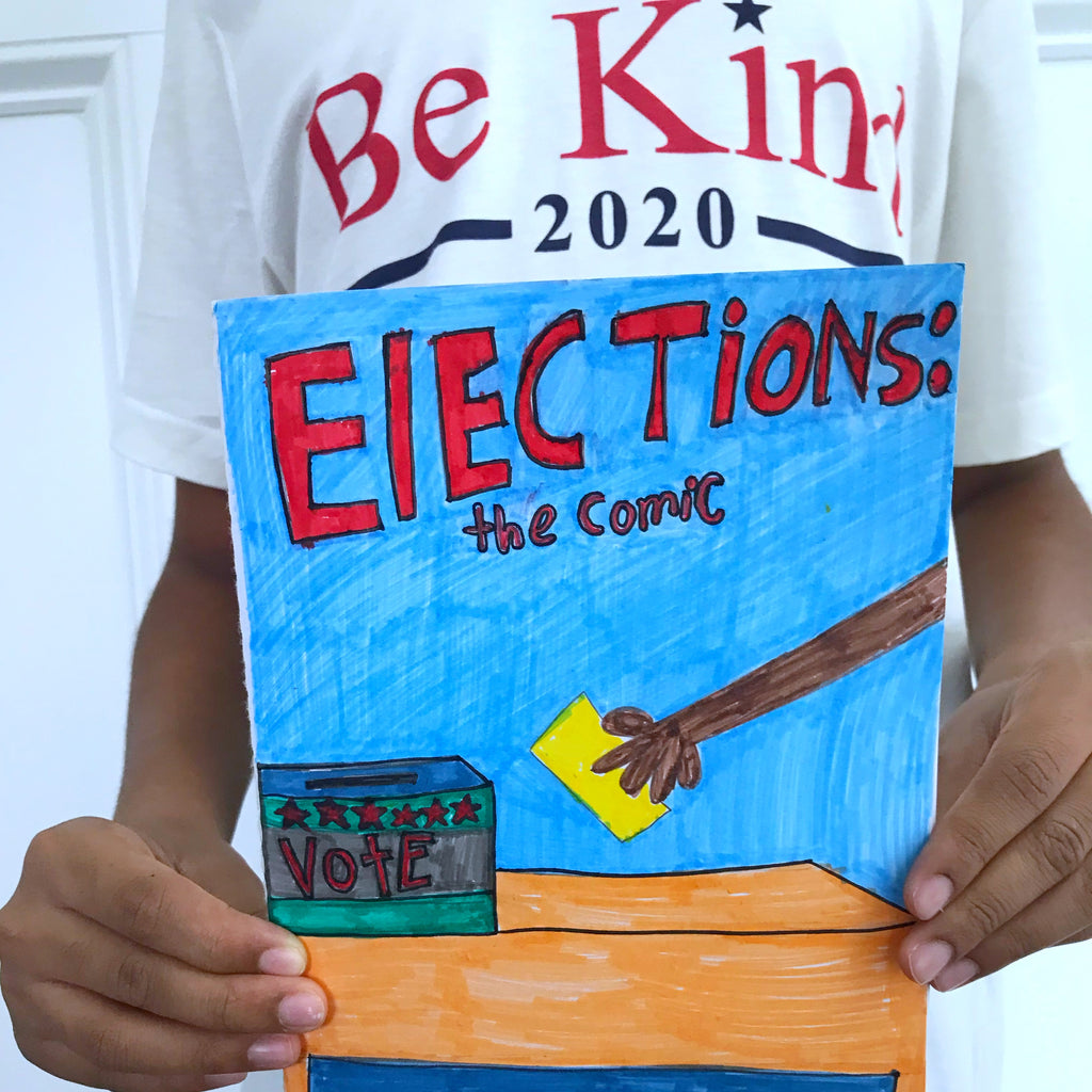 DIY Comic Book Election Lesson