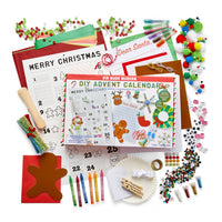 DIY Advent Calendar Kit: 25 Days of Crafts