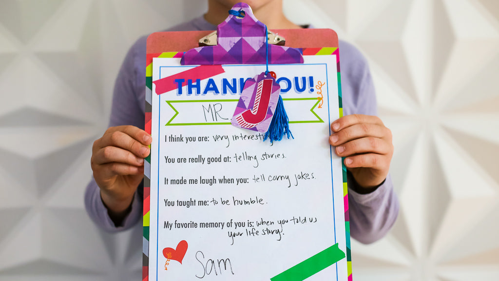 Teacher Appreciation Clipboard Craft
