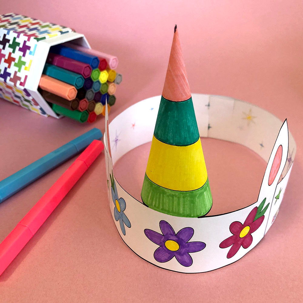 Unicorn Crown - Free Printable