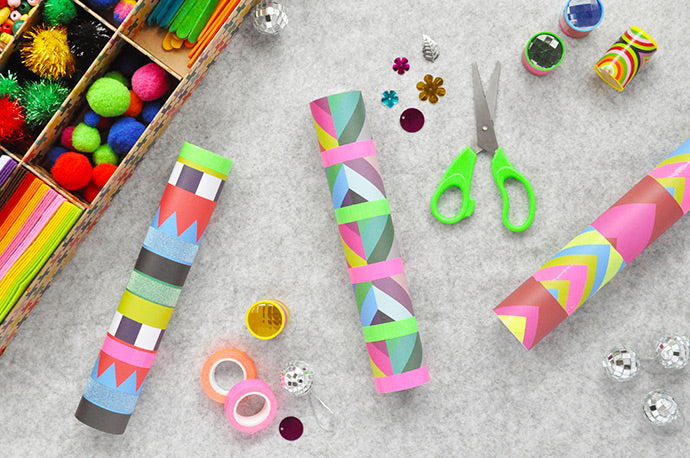 DIY Kaleidoscope Craft for Kids