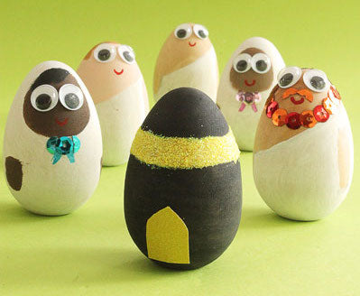 Painted Eid al Adha Eggs