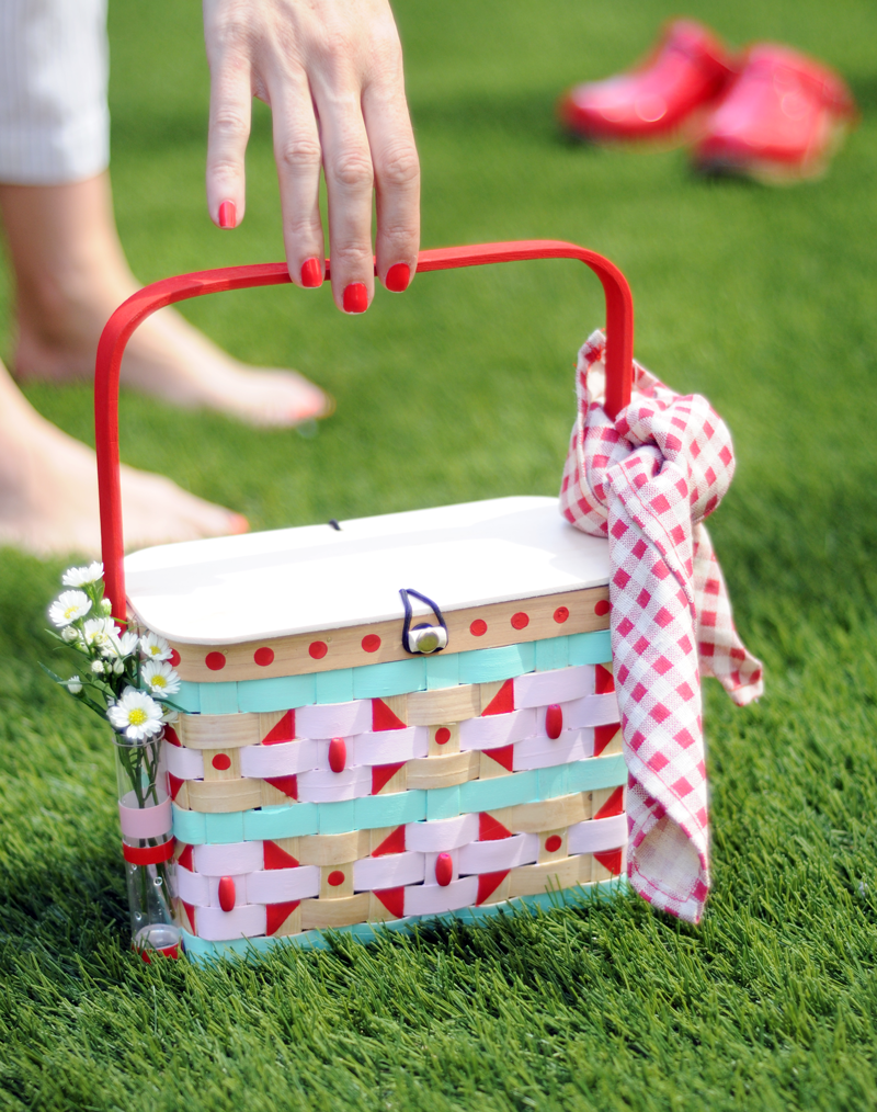 DIY Picnic Basket Purse Craft for Kids