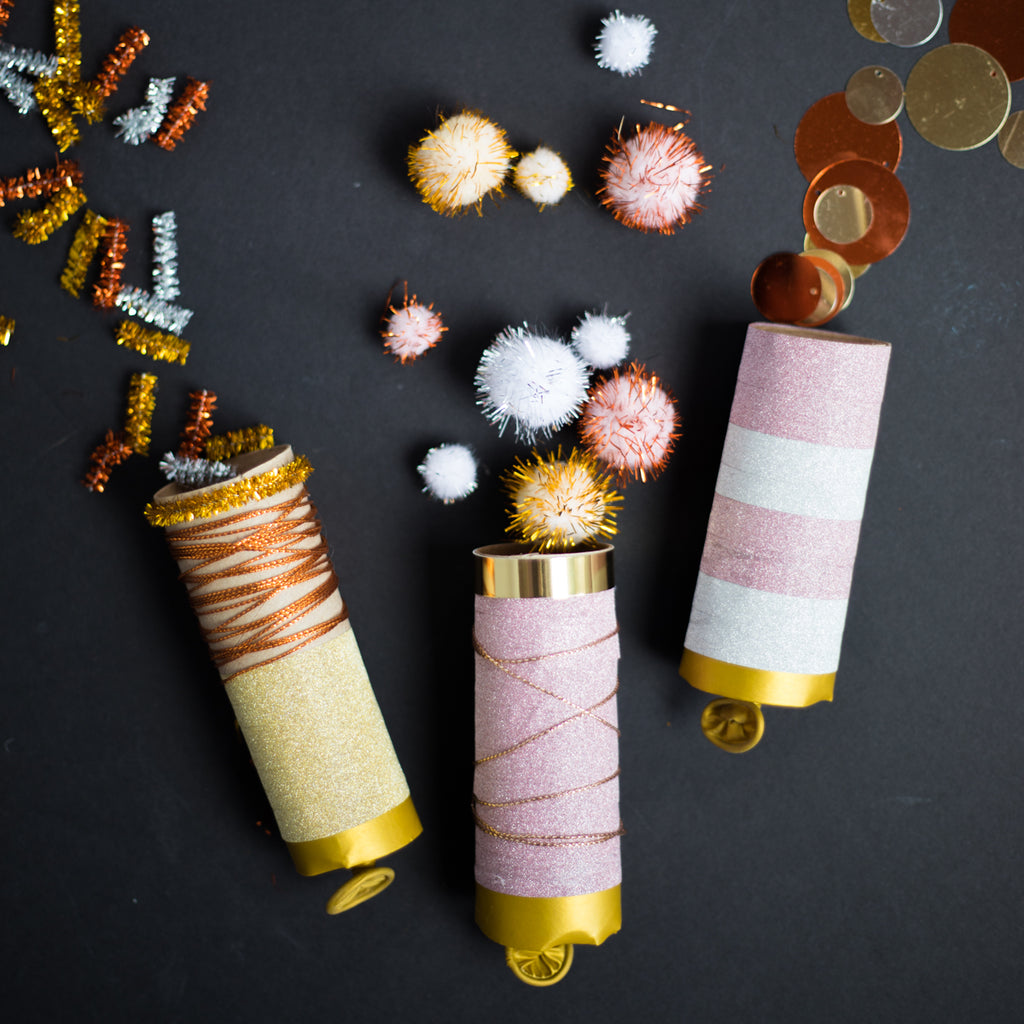 DIY New Year's Confetti Poppers