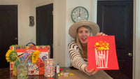 Simple Popcorn Art with Laurie