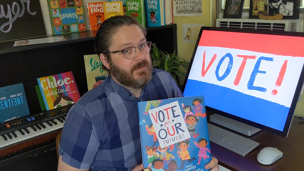 Vote for Our Future! Storytime with Illustrator Micah Player