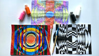Art Lesson: OP Art with M.J. Kocovski