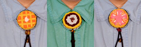 Apple Pie Bolo Tie Wear It