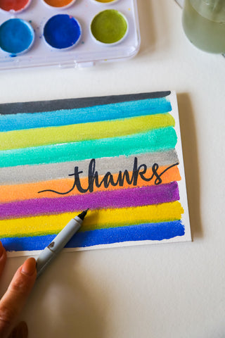 DIY Thank You Cards Step 3